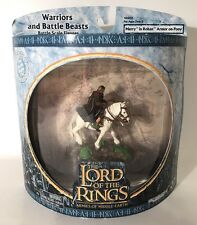 Lord Of The Rings Warriors And Battle Beasts Merry Rohan Armor On Pony Figure