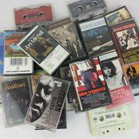 Cassette Tape Classic Rock Folk Blues Jazz Lot of 20 Led Zepplin Pink Floyd