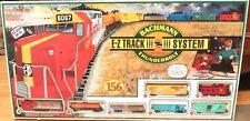 VINTAGE HO SCALE #00612 BACHMANN THUNDERBOLT E-Z TRACK SYSTEM SET IN BOX.