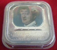 2006 Stamp & Coin Set - 50 years of Television - Lenticular Silver Proof Coin