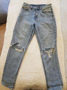KSUBI distressed denim jeans size 27 great condition