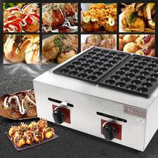 Commercial Lpg Takoyaki Maker Takoyaki Machine Fish Ball Grill 56pcsper Time Us
