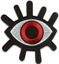 Eye eyeball tattoo wicca occult goth punk retro applique iron-on patch S-1232