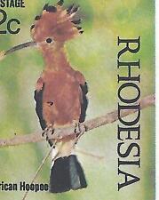 Birds African Stamp Blocks