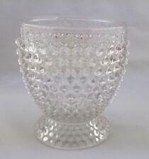 Antique Findlay Glass Hobnail Double Eye Vase Spooner