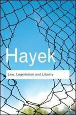 Law, Legislation and Liberty by Friedrich A. von Hayek