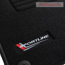 Mattenprofis Velours SportLine Logo Fußmatten für Audi A2 ab Bj.2000 - 2005