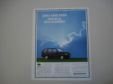 advertising Pubblicità 1995 RANGE ROVER