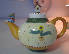 """""""Home in the Garden"""" Teapot by Vandor Pelzman Designs"""