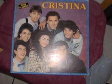 LP CRISTINA - CRISTINA D'AVENA 1989 COPERTINA EX VINILE N/MINT NO STICKERS