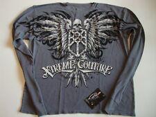 XTREME COUTURE Mens LS Thermal Shirt NWT > 2XL Blaze