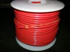 14 Awg 19 Strand M16878/4-14-2 Red Silver Plated Teflon Insulated 100 ft Spool