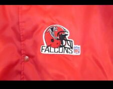 Vintage 90s Atlanta Falcons Chalk Line Jacket
