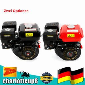 7,5 PS 4-Takt Benzinmotor Gas Motor Horizontale Einzelzylinder Luftkühlung OHV