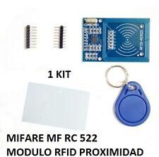 MODULO RFID TARJETA DE PROXIMIDAD MIFARE MF RC522 LECTOR Y ANTENA CARD READER IC