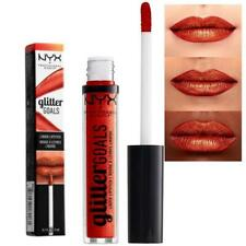 NYX Makeup GLITTER GOALS Colour LIQUID LIPSTICK LIP Lacquer SHIMMY Golden RED