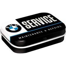 NOSTALGIE ► Pillendose BMW SERVICE mit Pfefferminzdragees NEU OVP
