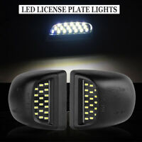For 1999-2013 Chevy Silverado Avalanche BRIGHT SMD LED License Plate Lights Lamp
