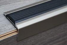 120cm INOX Aluminium Anti Rutsch Treppenprofil Treppenkanten Treppenwinkelprofil