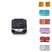 Square Magnetic Hijab Pin Shawl Magnet Scarf Pin Headscarf Abaya Clasp Brooch HH