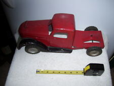 Rare Antique Pressed Steel Buddy L Sit and Ride Pull Behind Toy Truck