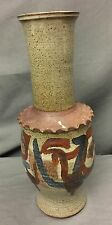 XXL Vase 20X7.6 inches Xlnt Cond Signed 'Hilton'?