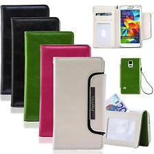 Handy Tasche für Samsung Galaxy Flip Cover Case Schutz Hülle Etui Wallet Bumper