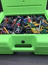 K'nex Knex Bundle with Green Case Total weight 4.5Kg