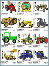 "AUSTRALIAN SITE: "" Classic & Vintage Tractors 2 "" - 15 Designs on a CD"