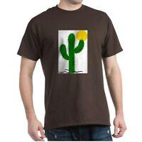 CafePress Cactus116 Black T Shirt 100% Cotton T-Shirt (59984521)