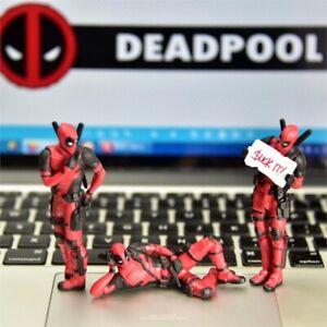 Marvel Avengers Deadpool Cute Action Figures Gift Toy Desk ,Home, Car Decoration