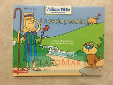 ☀️ La Oveja Perdida The Lost Sheep Religious Hardcover Childrens Bible Book RARE