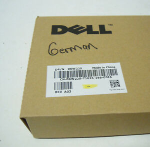 Dell Black USB Wired SK-3205 Smart Card Reader Keyboard Palm Rest SHIPS SAME DAY