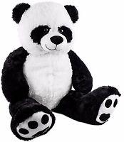 "BRUBAKER XXL Panda Teddy Bear 40"" Plush Soft Toy Stuffed Animal"