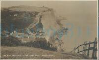 Hastings Eoclesbourne Cliff Real photo Judges 87 1914 postmark