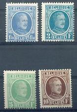 BELGIEN 1926 214-217 * HÖCHSTWERTE(D2704