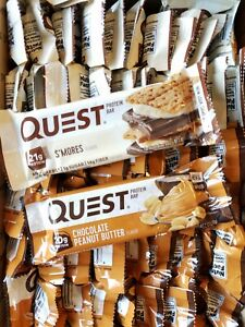 Quest Nutrition 20-21G Protein Bars ~ 60 bar lot ~ 2 Flavors ~ Read Description