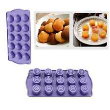 2 pcs Küchen Back Formen Silikonform Pudding Schokolade Form Werkzeug Backformen