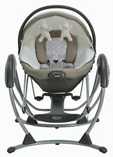 Soothing System Baby Glider Abbington Portable Bouncer and Bassinet in One Size