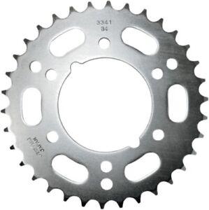 Sunstar - 2-334134 - Steel Rear Sprocket, 34T~ 94-9934 Gray 2-334134