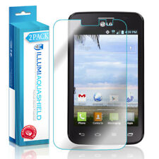 2x iLLumi AquaShield Crystal HD Clear Screen Protector for LG Optimus Dynamic II