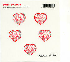 France BLOC FEUILLET F4632 F648 COEURS PATCH D'AMOUR ADELINE ANDRE 2012. Neuf**