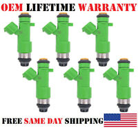 6X NEW OEM DENSO Fuel injectors for 2009-10-11-12-13-14 Nissan Murano 3.5L V6