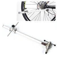 Neu Edelstahl Fahrrad Umwerfer Schaltauge Bike Repair Werkzeug Alignment Gauge