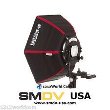 "SMDV Diffuser Speedbox-S40 17"" Hexagon Softbox for Speedlight Qflash, Godox 360"