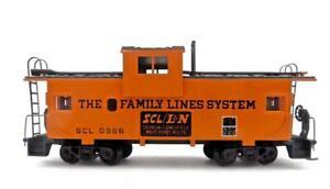 HO Gauge Athearn John Henry Family Lines Orange SCL/LN Wide Vision Caboose (888)