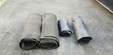 2 flatbed smoke Tarps 10x12, 2 rolls felt