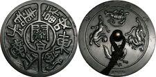 WCA Antique Japanese Bronze Manju Netsuke  Lot #004