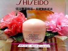 """Shiseido Benefiance WrinkleResist24* Day Cream *SPF15 ◆10ml◆Brand New""""FREE POST"""""""