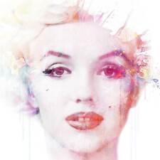 Veebee-Marilyn Monroe En Acuarela-Edición limitada firmada impresión